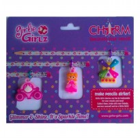 Girlie Girlz TM3331d Double Side Charm for Pen/Pencil