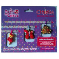 Girlie Girlz TM3331e Double Side Charm for Pen/Pencil