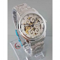TAG HUER AUTOMATIC SILVER COVER WHITE - Jam Tangan AUTOMATIC