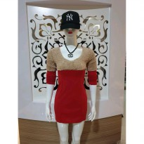 Baju fashion wanita terusan mini dress keren modis import