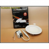 Led Panel 6 watt light Model BULAT Merk SANLY ( NYALA SUPER BRIGHT )
