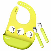 Kidsme Deluxe Dining Set - Lime