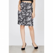 Edeline Black Pencil Skirt