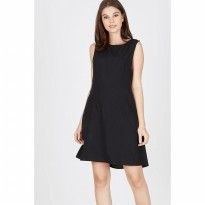 [BERRYBENKA] Corey Bar Dress In Black