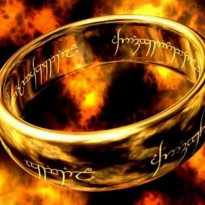 Cincin Tungsten Lord of The Ring