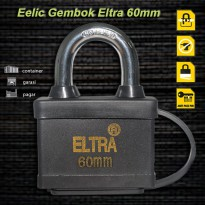 EELIC GEK-EL60MM Gembok Serbaguna 60 MM Stainless