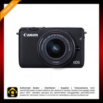 Canon EOS M10 Kit 1 15-45mm f/3.5-6.3 IS STM - Black
