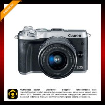 Canon EOS M6 Kit EF-M 15-45mm - Silver
