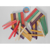 Ice Cream Stick - Stik Es Krim Kayu Warna Warni