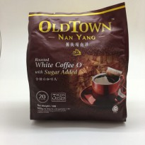 Old Town Nan Yang Roasted White Coffee O with Sugar Added