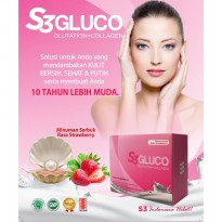 S3 Gluco Glutation dan Collagen Original
