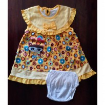 Baju Bayi / Dress Bayi Karakter Pita Girl