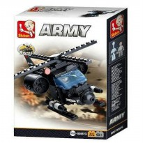 Lego Sluban Army 8 Into 1 Helicopter