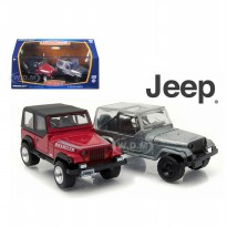 LIMITED Greenlight 1:64 Firstcut 1987 Jeep Wrangler