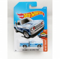 Hotwheels 1978 Dodge Li l Red Express Truck - biru