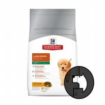 science diet 15 kg puppy large breed chicken meal and oat recipe