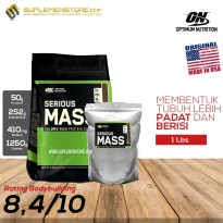 Optimum Nutrition Serious Mass Gainer 1 lbs Eceran