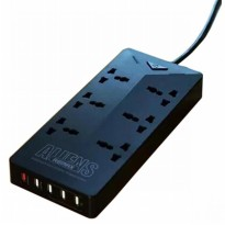 Remax Alien Series RU-S4 5 Ports USB Hub and 6 Universal Plug 4.2A