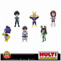 BANPRESTO MY HERO ACADEMIA WCF V1 SET 6PCS 39496