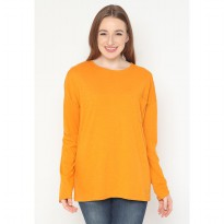 Mobile Power Ladies Iloosy Pocket Long Sleeve T-Shirt - Orange AG103