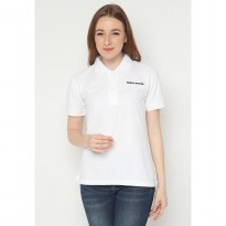 Mobile Power Ladies Polo T-Shirt Wangki - White JL104