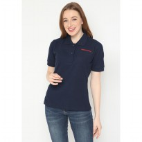 Mobile Power Ladies Polo T-Shirt Wangki - Navy JL107