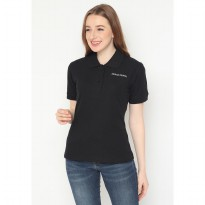 Mobile Power Ladies Polo T-Shirt Wangki - Black JL108