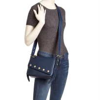 Authentic Marc Jacobs Downtown Messenger Bag - Navy