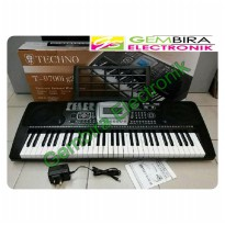 Keyboard piano Techno T 9700 i keyboard techno murah t9700i