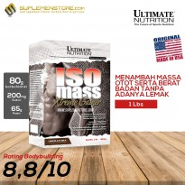 Ultimate Nutrition Iso Mass Xtreme Gainer 1 lb Isomass 1lbs box