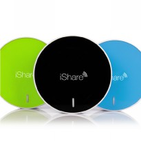 iShare 3G 4G Wifi Router Repeater File Sharing Power Source Portable