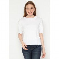 Mobile Power Ladies Turtle Neck T-Shirt - White A131