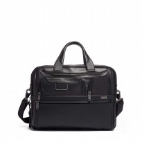 Tumi Leather Expandable 2in1 laptop Brief
