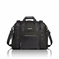 Tas Import Authentic Tumi Toe Mibu Travel Bag - Black