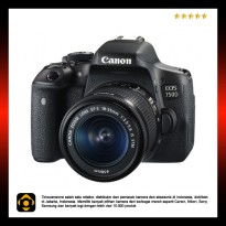 Canon EOS 750D Kit EF-S 18-55mm f/3.5-5.6 IS STM WiFi