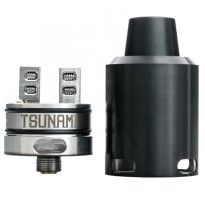 Tsunami 24 RDA Atomizer - BLACK [Authentic]