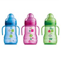 MAM BABY NEW TRAINER TRAINING CUP SPOUT + .NIPPLE BOTOL MINUM BAYI 220M