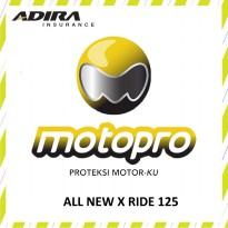 Asuransi Motopro - ALL NEW X RIDE 125