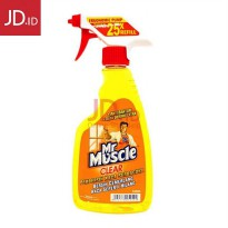 Mr. Muscle Clear Glass Liquid Lemon 500ml Minimum Beli 2 Item Yang Sama