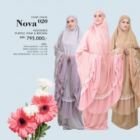 Mukena Tatuis Maxmara Nova 020 Brown Pink Purple