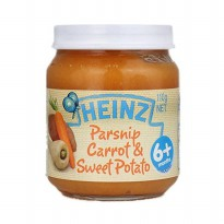 Heinz Parsnips, Carrots & Sweet Potato 110gr
