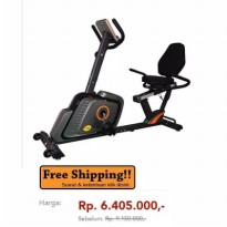 Recumbent Bike Bfit Model 375R / Sepeda Fitness