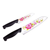 Royal Rose 2 Set Pisau Anti Lengket & Tajam