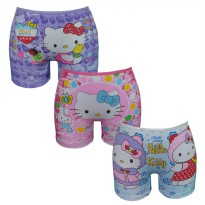 Bananana [Set 3 Pieces] Boxer Anak Hellokitty