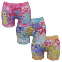 Bananana - [Set 3 Pieces] Boxer Anak Karakter My Little Pony