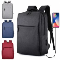 BP34 Tas Ransel Korean Lifestyle Casual Laptop Backpack