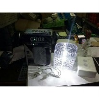 [Siap Kirim] LAMPU EMERGENCY LAMP CMOS HK-86 / RECHARGEABLE LAMP