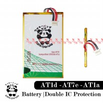 Baterai Evercoss AT1A Evertab AT1D Double IC Protection