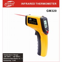INFRARED THERMOMETER GM320 / TERMOMETER INFRAMERAH