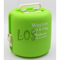 DISKON Weston Rantang Hot & Cool Susun 2 (+BB5) (00100.00537)